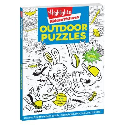 Hidden Pictures Favorites: Outdoor Puzzles