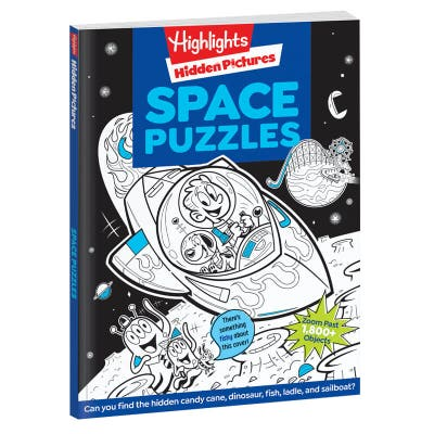 Hidden Pictures Space Puzzles
