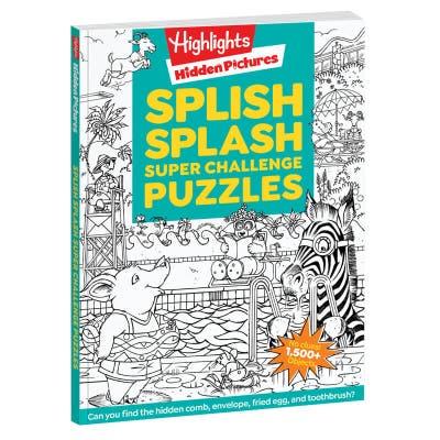 Hidden Pictures Super Challenge Puzzles: Splish Splash
