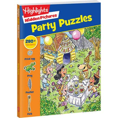 Hidden Pictures Stickers Party Puzzles