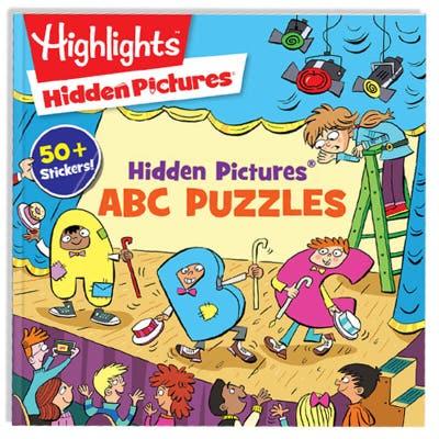 Hidden Pictures ABC Puzzles book