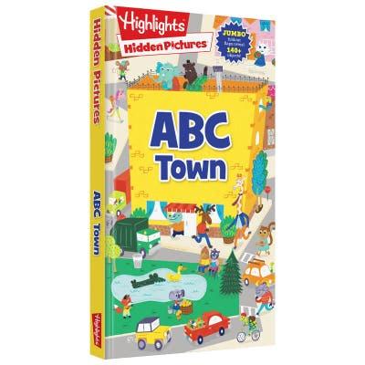 Hidden Pictures ABC Town