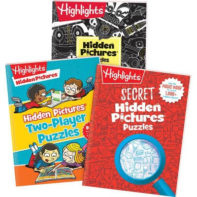 Extra-Special Hidden Pictures Puzzles Set of 3