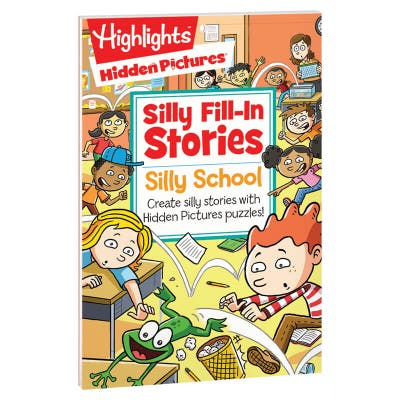 Silly Fill-In Stories: Silly School book