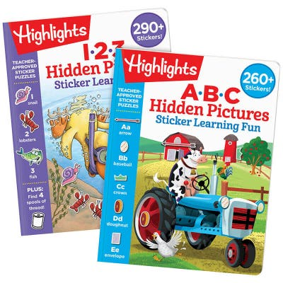 Hidden Pictures Sticker Learning Fun Set