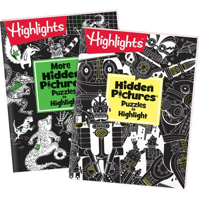 Hidden Pictures Puzzles to Highlight Set of 2