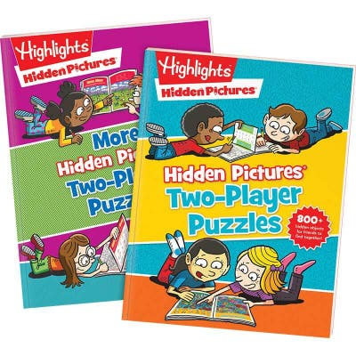 Hidden Pictures Two-Player Puzzles Set of 2