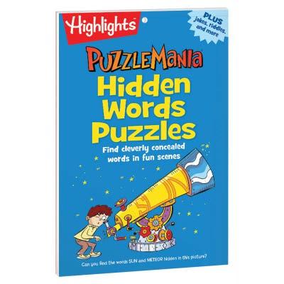 Puzzlemania Hidden Words Puzzle Pad
