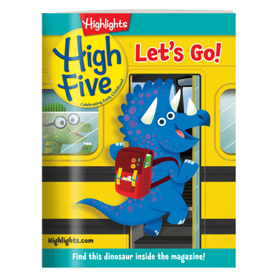 High Five Magazine One Year (12 Issues) Subscription + 2 FREE Gifts