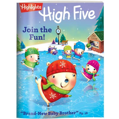 High Five Magazine 6 Month (6 Issues) Subscription