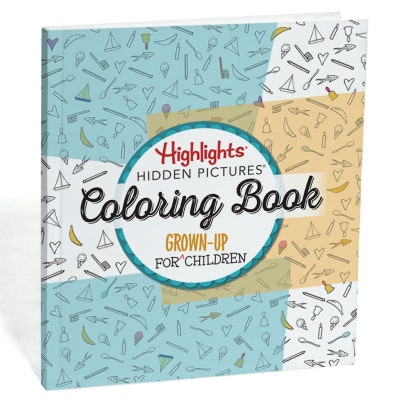 Highlights Hidden Pictures: A Coloring Book for Grown-Up Children