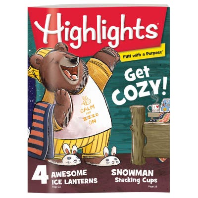 Highlights Magazine One Year (12 Issues) Subscription