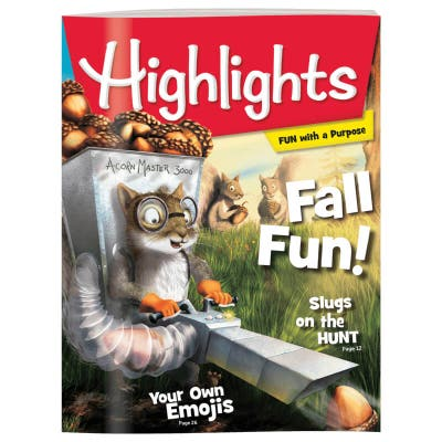 Highlights Magazine One Year (12 Issues) Subscription + 2 FREE Gift