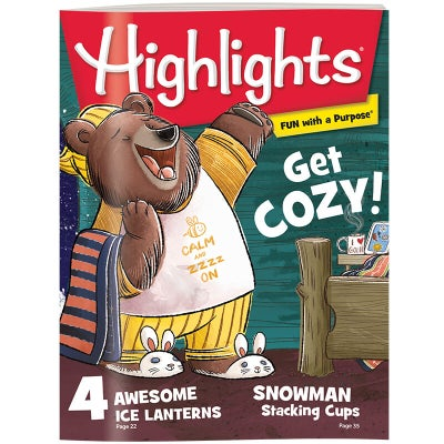Highlights Magazine 3 Month (3 Issues) Subscription
