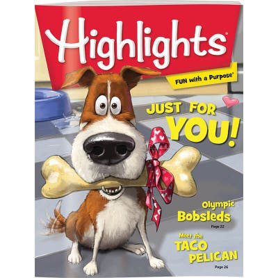 Highlights Magazine 12 Month Subscription (+3 Free Issues)