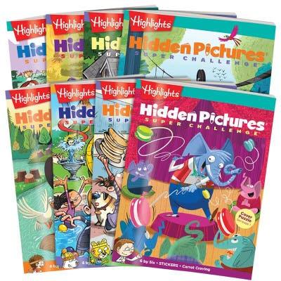 Hidden Pictures Super Challenge 8-Book Set