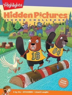 Hidden Pictures Super Challenge Book Club