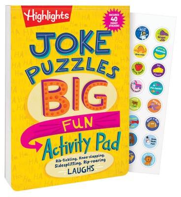 Joke Puzzles: Big Fun Activity Pad