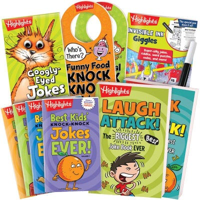 Jokes and Riddles Gift Set