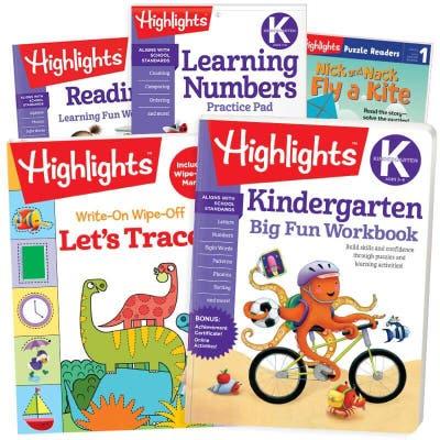 Back-to-School Success Pack, Kindergarten