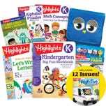 Deluxe School Success Pack, Kindergarten, with 5 books, lunch tote, pencil kit and magazine subscription inset