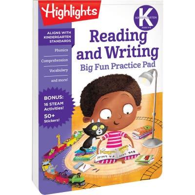 Kindergarten Big Fun Practice Pad: Reading and Writing