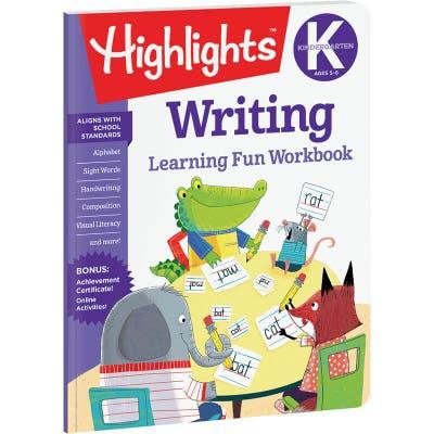 Kindergarten Learning Fun Workbook: Writing