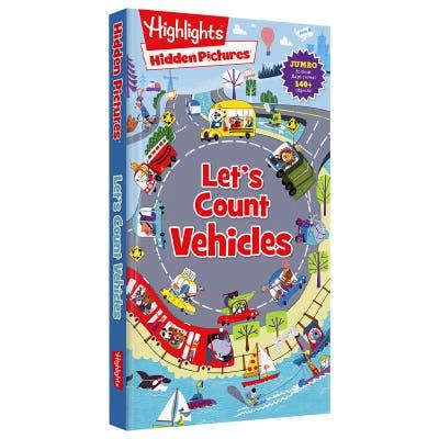 Hidden Pictures Let's Count Vehicles