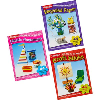 Look What You Can Make Craft Books Set of 3