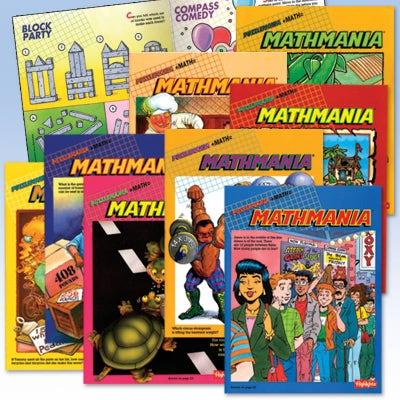 Mathmania  8-Book Set