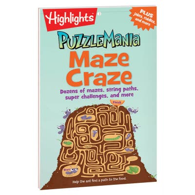 Puzzlemania Maze Craze Puzzle Pad