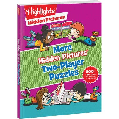 More Hidden Pictures Two-Player Puzzles