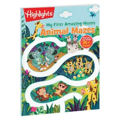 My First Amazing Mazes: Animal Mazes book