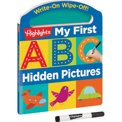 Write-On Wipe-Off My First ABC Hidden Pictures Book