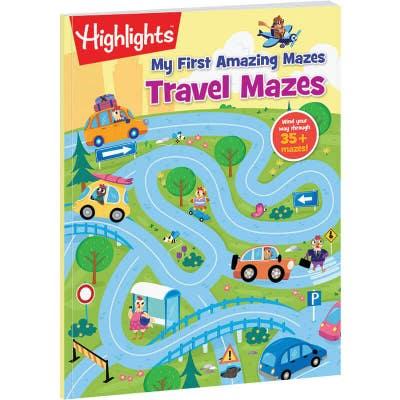 My First Amazing Mazes: Travel Mazes book