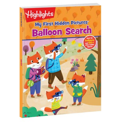 My First Hidden Pictures: Balloon Search book