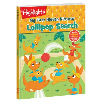 My First Hidden Pictures: Lollipop Search book