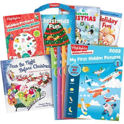 Stuck on what to get kids for Christmas? This set of 9 books is just the thing.