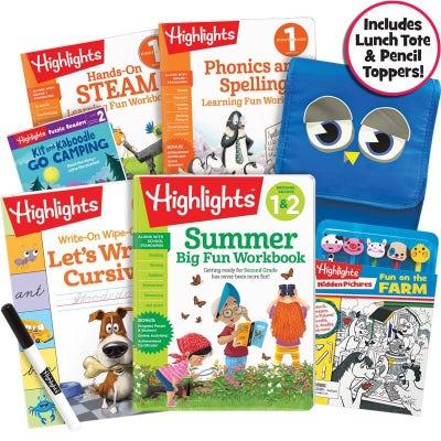 Premium Summer Learning Pack 1-2