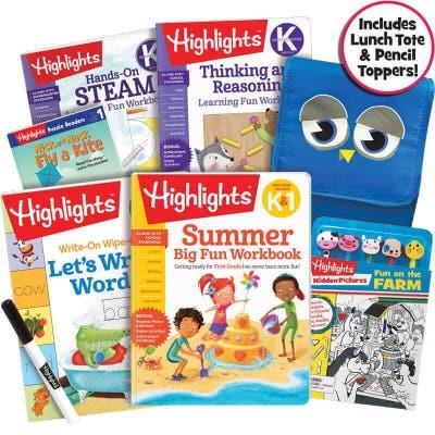 Premium Summer Learning Pack K-1