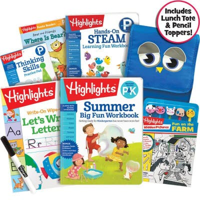 Premium Summer Learning Pack P-K