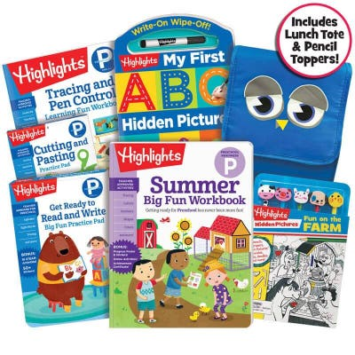 Premium Summer Learning Pack: Getting Ready for Preschool