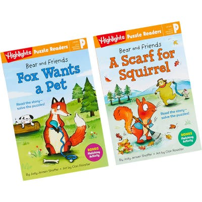 Bear and Friends 2-Book Set: Pet and Scarf
