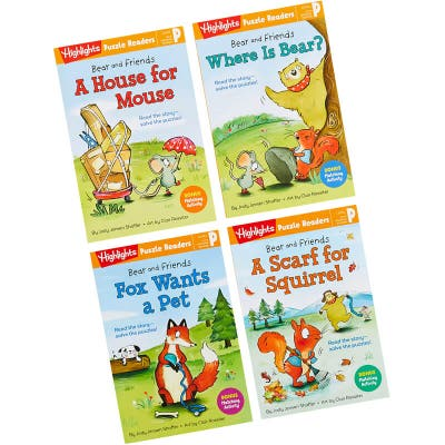 4 Bear and Friends books
