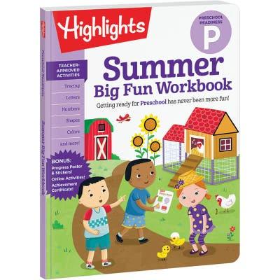 Summer Big Fun Workbook: Preschool Readiness