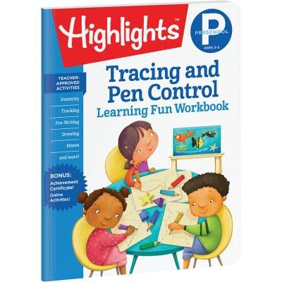Preschool Learning Fun Workbook: Tracing and Pen Control