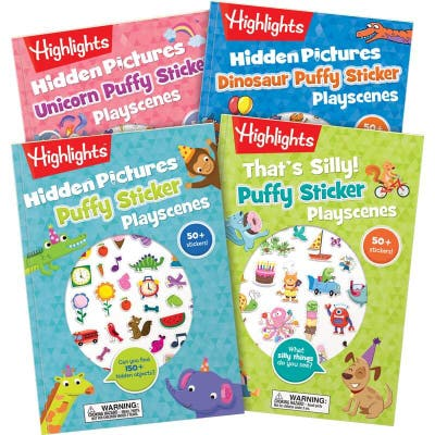 Puffy Stickers Playscenes Collection