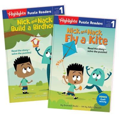 Nick and Nack 2-Book Set: Birdhouse and Kite