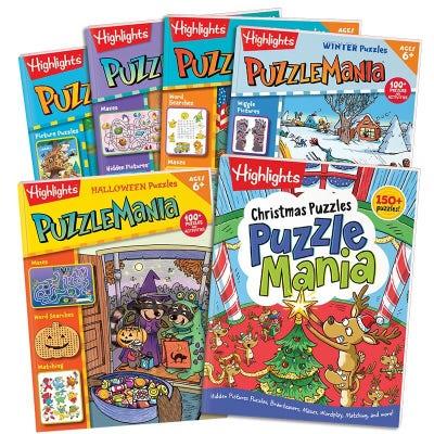 Puzzlemania All-Season Collection