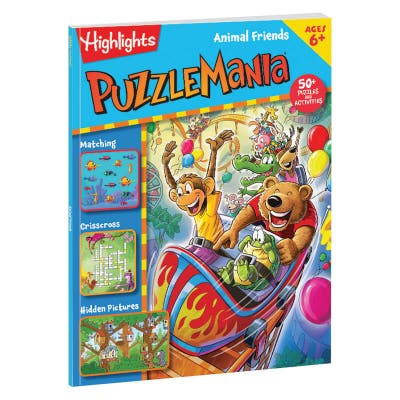 Puzzlemania Animal Friends book